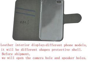 Image 2 - DIY טלפון שקית אישית תמונה תמונה עור מפוצל מקרה flip כיסוי עבור Xiaomi Redmi הערה 8T