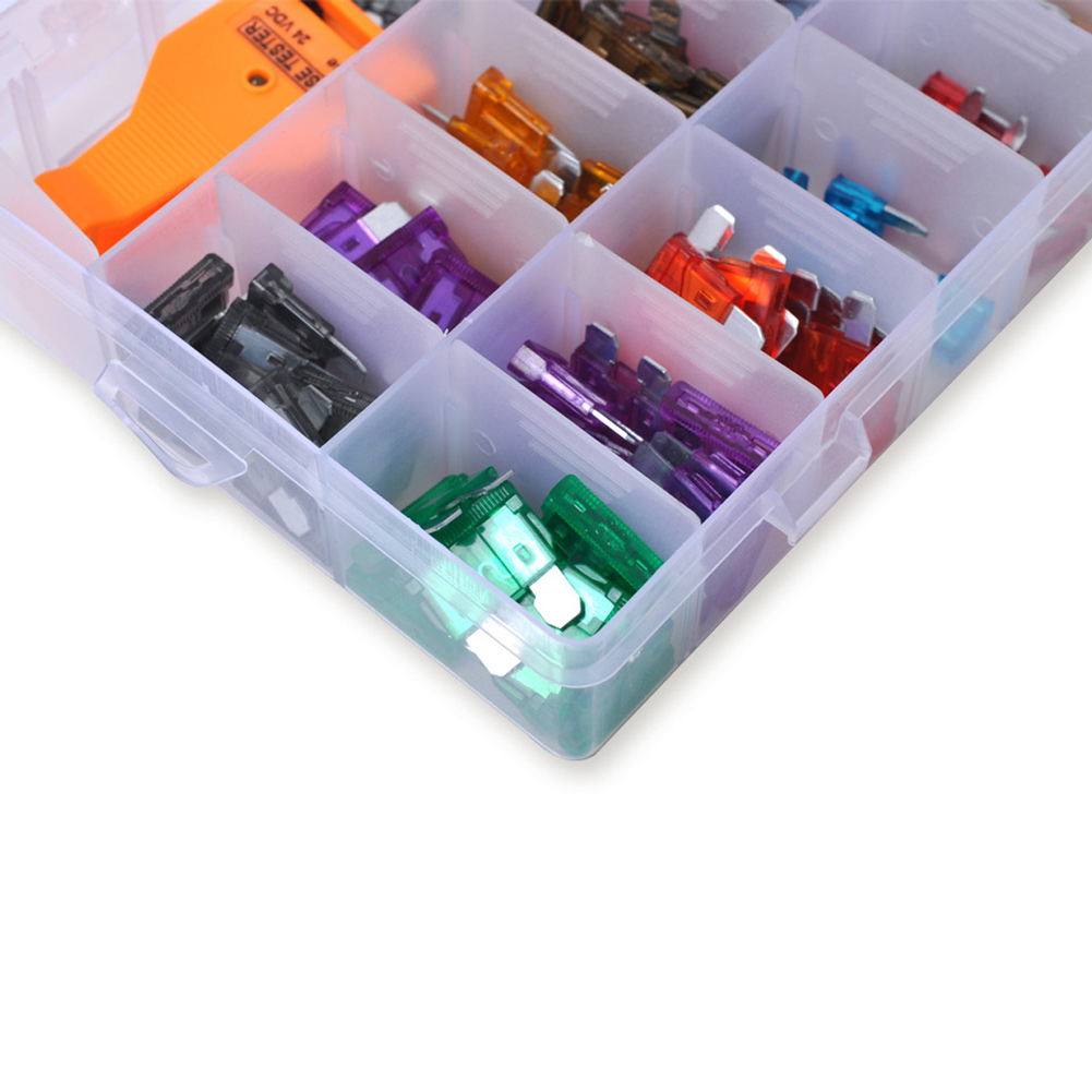 169 pcs auto car truck fuses box with fuse tester car styling small size