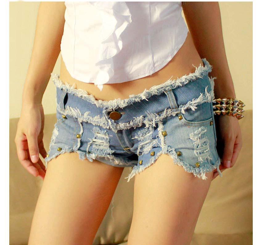 Sexy women wearing jean shorts assured. remarkable