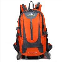 2018 New Outdoor Camping Water Resistant 40L Backpack Mountaineering Hunting Travel Backpack Big Capacity Waterproof Sports Bag
