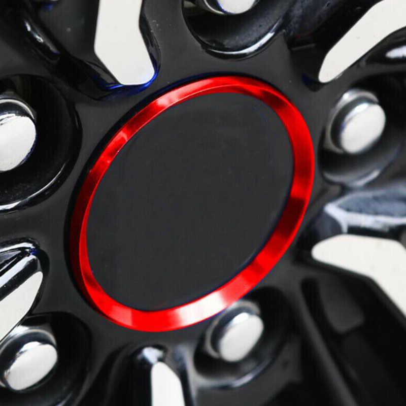 אדום גלגל טבעת Trim עבור טויוטה קאמרי 2018-2019 החלפת 4Pcs סט חלקי עמיד