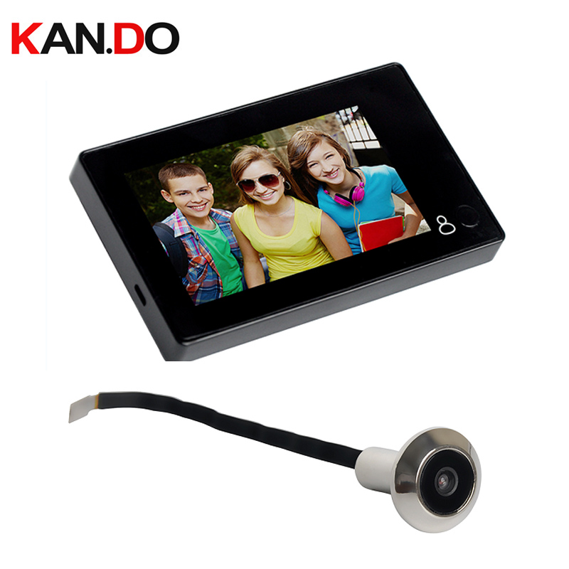 YB-43CH 4.3inch Color Screen Peephole Viewer Digital Wide Angle DOOR Camera Monitor Video Camera Peephole Monitor