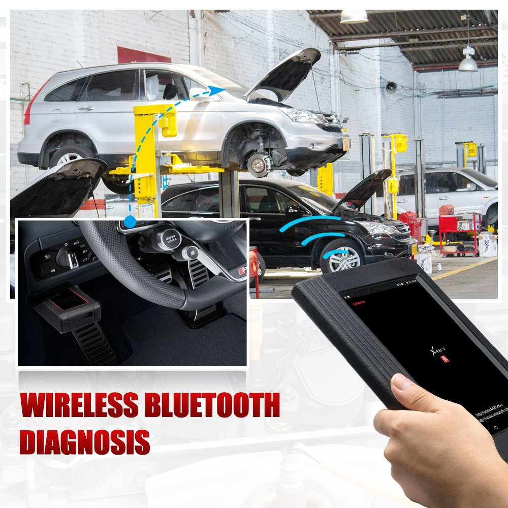 Image 5 - Launch X431 V 8inch Car full system OBD2 Scanner Diagnostic Auto Tool OBDII Code Reader support Bluetooth/Wifi Multi language-in Multimeters & Analyzers from Automobiles & Motorcycles