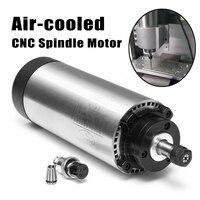 С воздушным охлаждением двигателя шпинделя с ЧПУ 220 В AC 1.5kw ER11 24000 об./мин. 400 Гц 4 подшипники фрезерные машины шпинделя