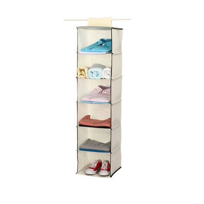 Le'sort Shelves, 6-Shelf Organizer