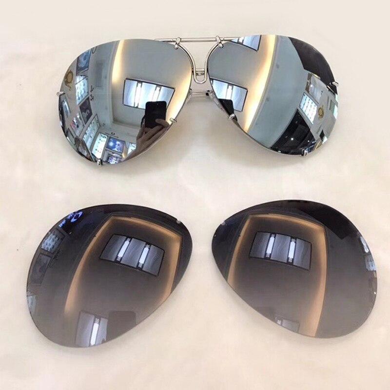2018 Replaceable Lens Sunglasses 8478 Sunglasses Men Women Italian Brand Designer Fashion Aviation interchangeable Sun Glasses