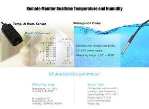 Image 5 - Sonoff TH10/16 akıllı Wifi anahtarı ev otomasyon kiti + Si7021/AM2301 sıcaklık nem sensörü Alexa ile çalışır google ev