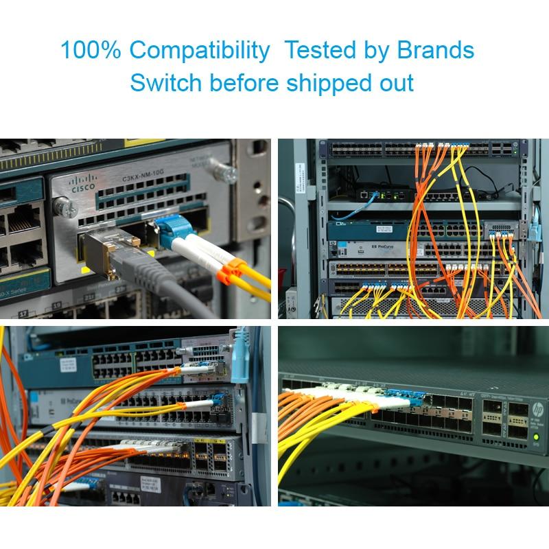 XFP-10GZR-OC192LR EX-XFP-10GE-ZR JD107A 10GBase-ZR / -ZW és OC-192 / - Kommunikációs berendezések - Fénykép 6