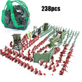 BOHS Bag Packed Army Man Set 238pcs/set Soldiers Training Military Base From A Batch Of Children Action Toy Figure