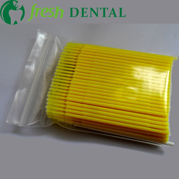 1600pcs Dental Disposable Micro applicators Micro brush Eyelash Extension Disposable False Eyelash Micro Brush Swab SL-MA106