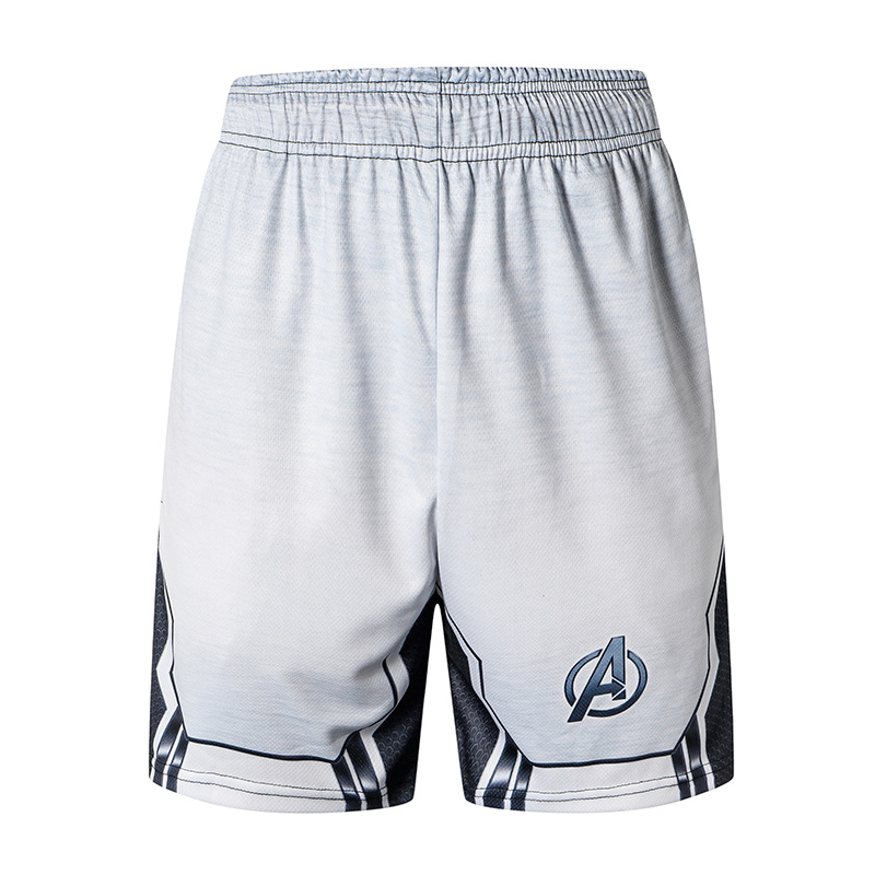 Avengers 4 Endgame Quantum War New Fashion Men Sporting Beaching   Shorts   Trousers Bodybuilding Fitness Jogger Gyms Men   Shorts