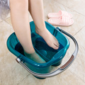 Foot bath Massage Footbath Heating Foot Massage Basin Deep Bucket Pedicure Basin
