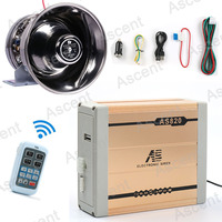 LARATH New Police Siren 18 Kinds Of Siren Sounds With Wireless Remote Control PA System Vehicle