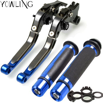 For Kawasaki Z750S (not Z750 model) 2006 2007 2008 Motorcycle Adjustable Folding Brake Clutch Levers Handlebar Hand Grips Handle