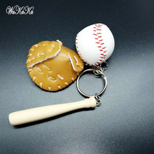 Baseball Game Set Keychain Fun Key Chain Womens Bag Charms Men Car Pendant  Creative Keychain-in Key Chains from Jewelry   Accessories on  Aliexpress.com ... 4b8238c88a