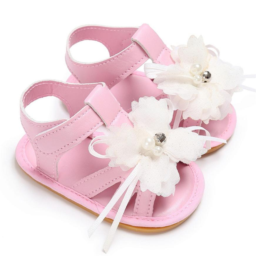 Brand Baby Girls Shoes Summer Slippers f