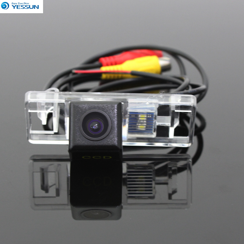 YESSUN Car Parking Backup Camera For <font><b>Peugeot</b></font> <font><b>406</b></font> 407 2D <font><b>coupe</b></font> 4D Sedan HD CCD + Reverse Camera Rear View Camera image
