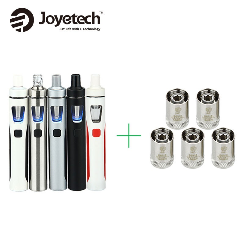 Original Joyetech EGo AIO Kit 1500mAh Quick Vape Kit 2ml 0.6ohm/1.0ohm All-in-One E-Cigarette Vaporizer Vs Ijust S Starter Kit