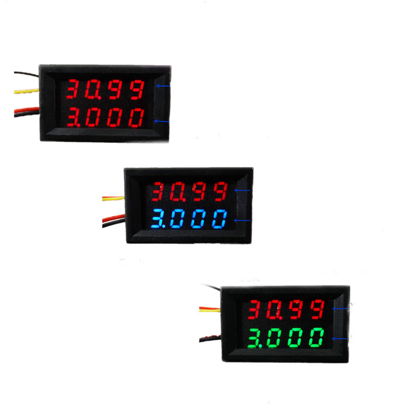 RD 40 pcs simple version 4 bit DC 0 33V 3A Dual LED Display 0 28