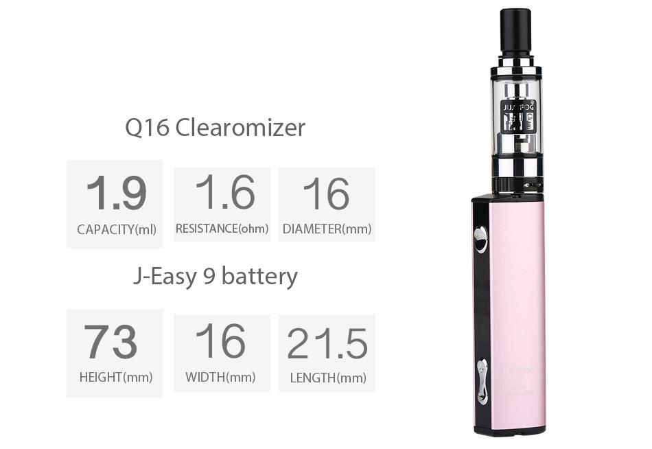 JUSTFOG Q16 Starter Kit - 900mAh
