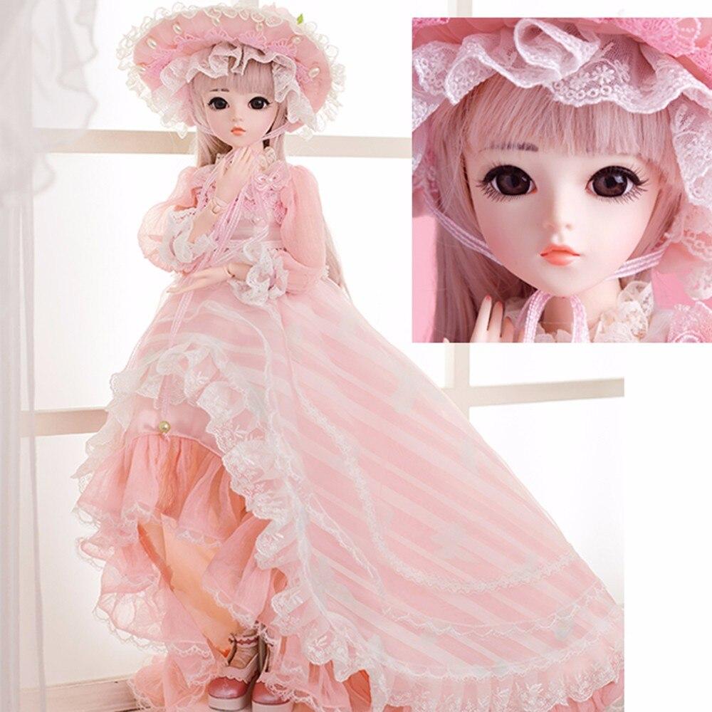 Oyuncaklar ve Hobi Ürünleri'ten Bebekler'de Viciviya Minifee Chloe Celine Mio Mika FL BJD Bebek 60cm 1/3 Tatlı Moda Peri Çıplak Oyuncaklar Kızlar Için Doğum Günü hediyeler'da  Grup 1