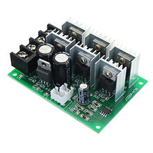 DC 9-55 V 40A 2000 W PWM DC Motor Pomp Speed Regulator High Power Speed Controller Non Pole elektronische Variabele Snelheid Modus(China)
