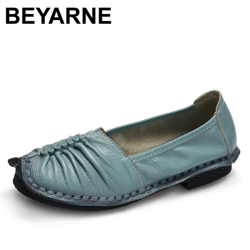 Faits À La Main Doux Chaussures Plates Confortables YdKVrPeM