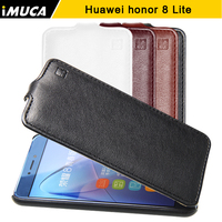 Huawei Honor 8 Lite Case Cover IMUCA Flip Covers PU Leather Case Capa For Huawei Honor