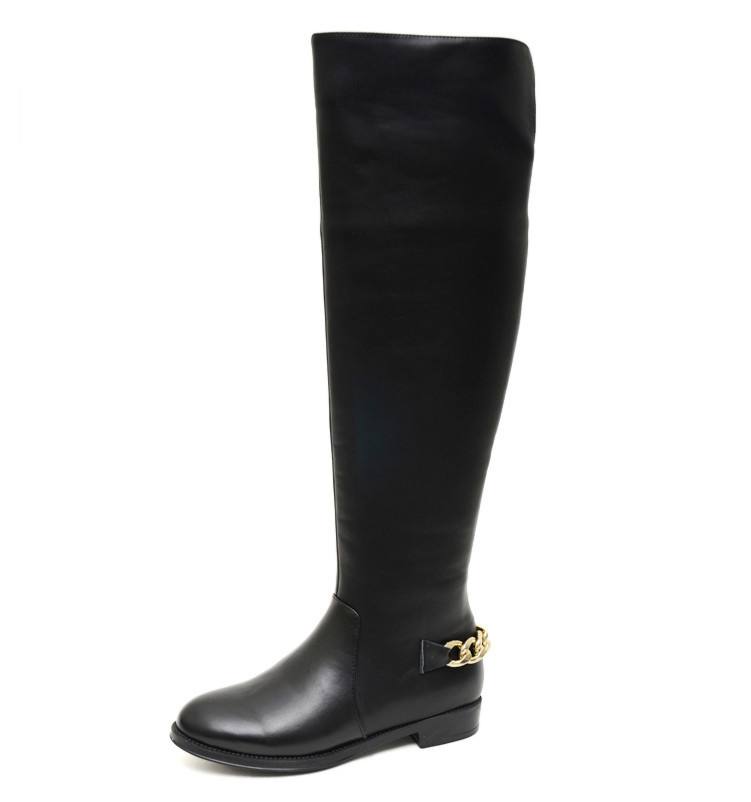 Online Get Cheap Womens Wide Calf Leather Riding Boots -Aliexpress ...
