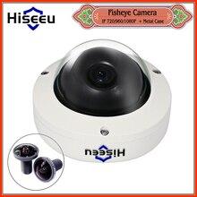 Freeshipping Мини HD Ip-камера fisheye 360 градусов Панорамный Сетевой Безопасности CCTV Купола ИК 720 P 1080 P Android IOS дистанционного ONVIF