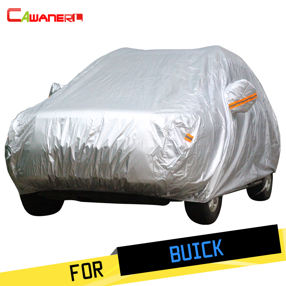Cawanerl Full SUV Car Cover Sun Anti UV Rain Snow Resistant Cover For Buick Enclave Regal LaCrosse Rendezvous Park Avenue Royaum ...