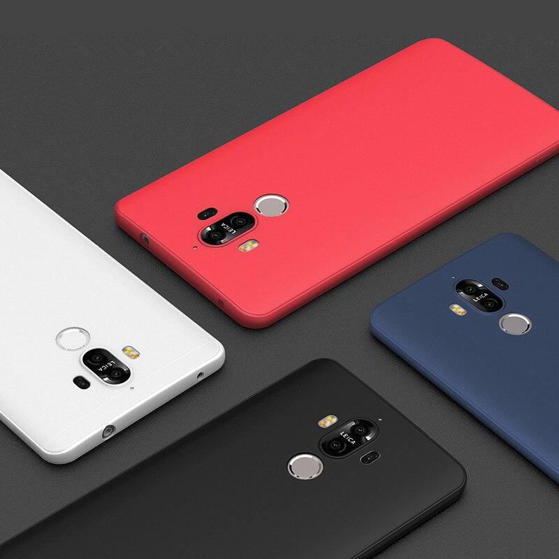 Мягкий чехол для Huawei Mate 9 случаях ТПУ кремния Тонкий защитить кожу резиновая ультра тонкий телефон чехол для Huawei Mate 9