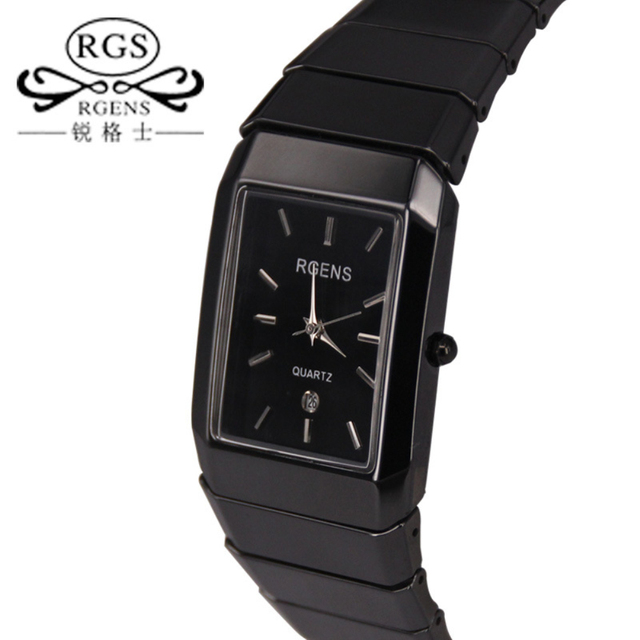 Men's Women's Watches Top Known Luxury Brands Casual Men's Business Quartz Ceram