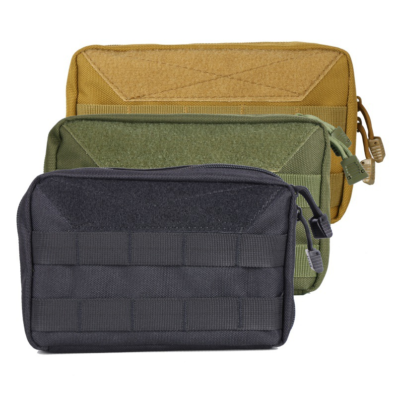2019 New Military MOLLE Admin Pouch Tactical Multi Medical Kit Bag Utility Tool Belt EDC Pouch For Camping Hiking Hunting