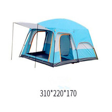 8 person rainproof sunscreen camping outdoor tent  2living rooms and 1hall family camping tent in top quality large space tent газетница schein rembrandt 0616 h