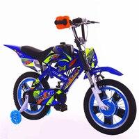 2018 новый мотоцикл стиль детский велосипед 12 16 20 дюймов Демпфирование Горный мальчик От 2 до 13 лет Детский Велоспорт дети bicicleta