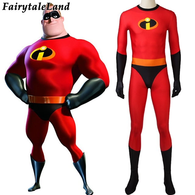 the incredibles 2 mr incredible cosplay costume cartoon halloween costumes for men cosplay bob parr