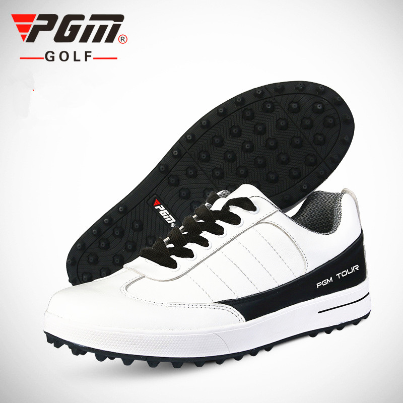 Ultra Shoes For Time-limited Men Pu Eva Zapatos De Golf 2018 Autumn New Breathable Waterproof Warm Color With And Men's simulation mini golf course display toy set with golf club ball flag