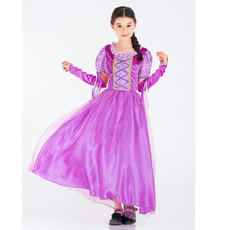 Adolescente Vestidos 2017 princesa traje para niños Cosplay partido ...
