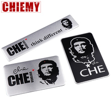 3D Car Styling CHE Guevara Badge Emblem stickers metal scratches cover car decoration personality creative Auto Accessories