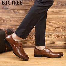 2019 classic shoes mens business shoes leather luxury dress shoes men heren nette schoenen sapato social chaussure mariage homme
