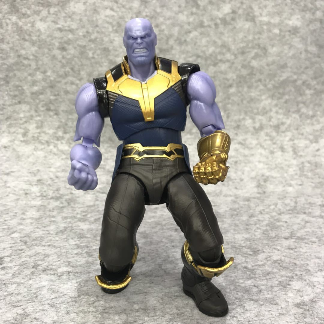 SHF Marvel Avengers Infinity War Thanos Action Figure 16cm BJD Collectible Model Toy