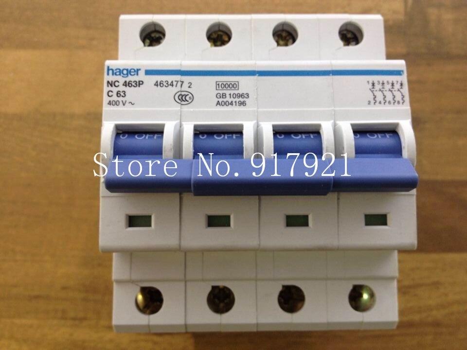 [ZOB] Hagrid NC463 miniature circuit breaker 4P63A to ensure genuine -