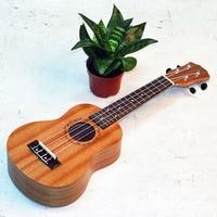 21 Inch Soprano Ukulele 21 Sapele Four Strings 15 Fret Rosewood Fretboard Uke For Beginner Or