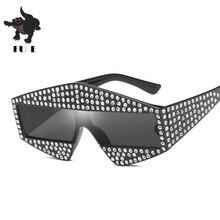 FU E 2019 New Fashion sunglasses Men And Women Luxury Diamon