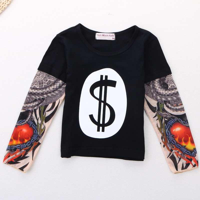 Boy-Clothes-Cotton-T-shirt-Long-Sleeve-Children-Tee-Shirts-Novelty-Tattoo-Sleeve-Baby-Boys-Tops-Springautumn-Kids-Clothing-3