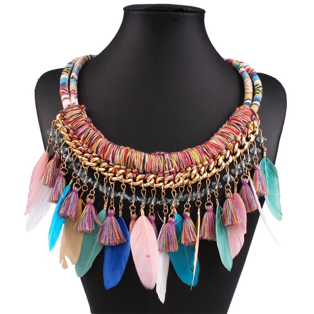 2015 Fashion Jewelry Hand Woven Bohemia Cloth Thread ...