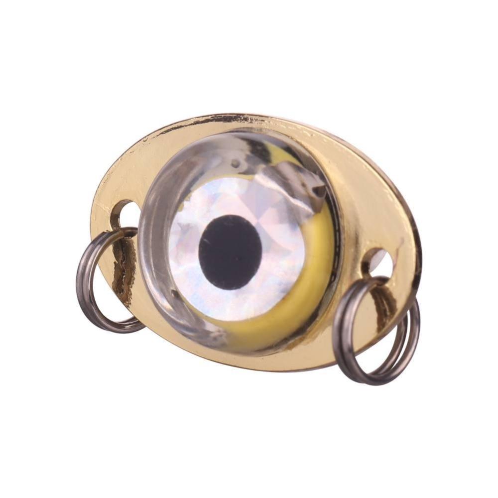 LED Deep Drop Underwater Lure Light Eye Shape Fishing Squid Fish Flash Lamp US