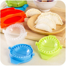 Food Dumplings Modelling Tools Kitchen Magic Creative Manual Pack Machine Food-grade Plastic Pinch Color Random