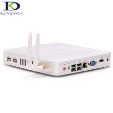 Тонкий клиент мини-компьютер без вентилятора Intel Celeron 1037U Dual Core 1.8 ГГц Barebone 1080 P HDMI 3D компьютерной игры 4 * USB 2.0